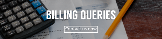 Billing queries for utility accounts